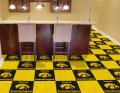"Iowa Hawkeyes NCAA 18"" x 18"" Carpet Tiles"