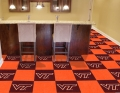 "Virginia Tech Hokies NCAA 18"" x 18"" Carpet Tiles"