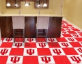 "Indiana Hoosiers NCAA 18"" x 18"" Carpet Tiles"