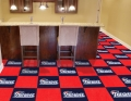 "New England Patriots NFL 18"" x 18"" Carpet Tiles"