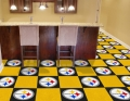 "Pittsburgh Steelers NFL 18"" x 18"" Carpet Tiles"