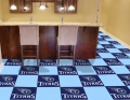 "Tennessee Titans NFL 18"" x 18"" Carpet Tiles"