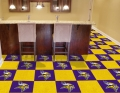 "Minnesota Vikings NFL 18"" x 18"" Carpet Tiles"