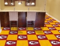 "Kansas City Chiefs NFL 18"" x 18"" Carpet Tiles"