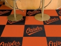 "Baltimore Orioles MLB 18"" x 18"" Carpet Tiles"