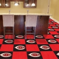 "Cincinnati Reds MLB 18"" x 18"" Carpet Tiles"