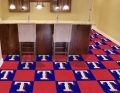 "Texas Rangers MLB 18"" x 18"" Carpet Tiles"