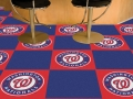 "Washington Nationals MLB 18"" x 18"" Carpet Tiles"