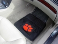 Clemson Tigers Premium All Weather 2pc Rubber Front Floor Mats