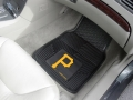 Pittsburgh Pirates Premium All Weather 2pc Rubber Car Floor Mats