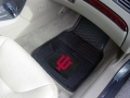 Indiana Hoosiers Premium All Weather 2pc Rubber Car Floor Mats
