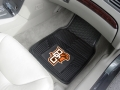 Bowling Green Falcons Premium All Weather 2pc Rubber Car Floor Mats
