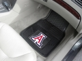 Arizona Wildcats Premium All Weather 2pc Rubber Car Floor Mats