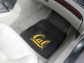 Cal Berkeley Bears Premium All Weather 2pc Rubber Car Floor Mats