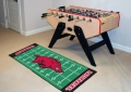 "Arkansas Razorbacks 29.5"" x 72"" NCAA Office/House Football Field Floor Runner"