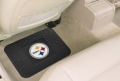 "Pittsburgh Steelers 14"" x 27"" All Weather Vinyl Utility Mats"