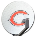 Chicago Bears NFL Satellite Dish Cover