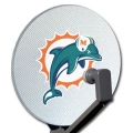 Miami Dolphins NFL Satellite Dish Cover