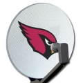 Arizona Cardinals NFL Satellite Dish Cover