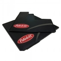 Peterbilt Motors Day Cab Logo Ribbed Semi Truck Vinyl Rubber Floor Mats