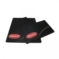 Peterbilt Motors Sleeper Cab Logo Ribbed Semi Truck Vinyl Rubber Floor Mats