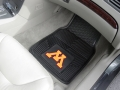 Minnesota Golden Gophers Premium All Weather 2pc Rubber Car Floor Mats