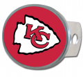 Kansas City Chiefs NFL Oval Hitch Cover