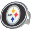 Pittsburgh Steelers NFL Oval Hitch Cover