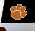 "Clemson Tigers NCAA Logo Glass Tatz """"Cutz"""" Window Graphic/Decals"
