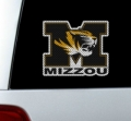"Missouri Tigers NCAA Logo Glass Tatz """"Cutz"""" Window Graphic/Decals"