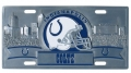 Indianapolis Colts NFL 3D Pewter License Plate