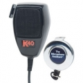 K40 4-Pin Noise-Canceling Dynamic CB Mic with Microphone Assistant CB Mic Holder