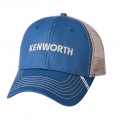 Kenworth Trucks Slate Blue & Tan Mesh SnapBack Cap