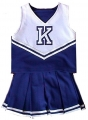 Kentucky Wildcats NCAA College Youth Cheerleading Outfits-FREE SHIPPING