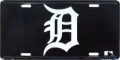 "Detroit Tigers ""D"" License Plate"