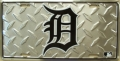 Detroit Tigers Diamond Plate License Plate