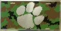 Clemson Tigers Camouflage Aluminum License Plate