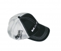 Mack Trucks Black & Grey Bulldog Snapback Mesh Cap