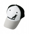 Mack Trucks Black & White Bulldog Logo Cap