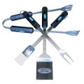 Ford Motor Company Stainless Steel BBQ Utensil Set