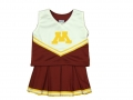 Minnesota Golden Gophers NCAA College Youth Cheerleading Outfits-FREE SHIPPING