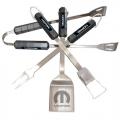 Mopar Stainless Steel BBQ Utensil Set