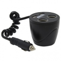 MobileSpec 12 Volt 2+2 Cup Holder Power Outlet for Cars & Trucks