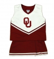 Oklahoma Sooners NCAA College Youth Cheerleading Outfits-FREE SHIPPING
