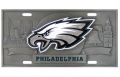 Philadelphia Eagles NFL 3D Pewter License Plate