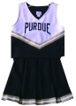 Purdue Boilermakers NCAA College Youth Cheerleading Outfits-FREE SHIPPING