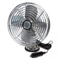 Road Pro 12 Volt RP-1179 Heavy Duty Metal Fan with Swivel Base