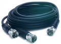 RoadPro 18' CB Antenna Co-Phase Coax Cable w/ (3) PL-259 Connectors