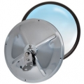"RoadPro 8.5"" Stainless Steel Adjustable Convex Mirrors"