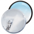"RoadPro 7.5"" Stainless Steel Adjustable Convex Trucker Mirrors"